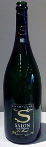 bottiglia di champagne Salon 1983