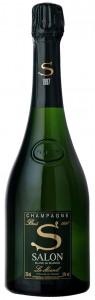 bottiglia di champagne Salon 1997