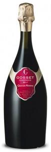 champagne gosset grande reserve abbinato con pizza margherita
