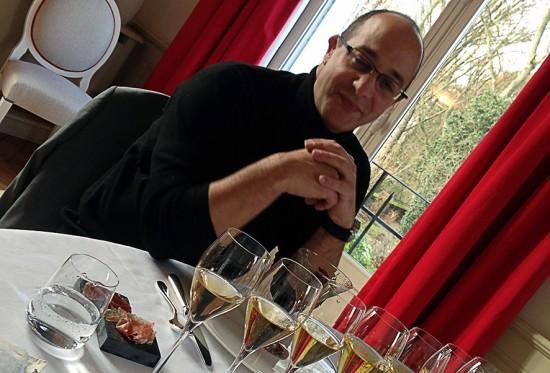 chef de cave di Mumm: Didier Mariotti