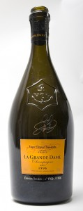 bottiglia champagne la grande dame 1996