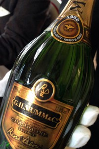 champagne mumm lalou 1982