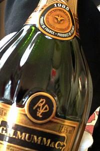 champagne mumm lalou 1985