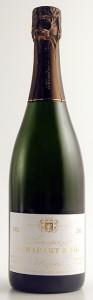 bottiglia di champagne Agrapart 2002