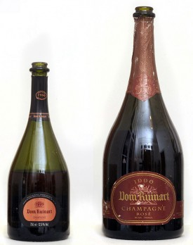 verticale champagne ruinart 1990