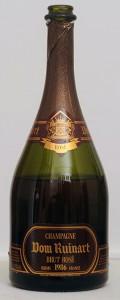 verticale champagne ruinart brut rosé 1986