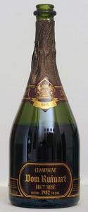 verticale champagne ruinart brut rosé 1982