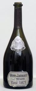verticale champagne ruinart rosé 1973