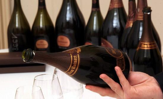 degustazione champagne Ruinart