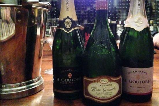 degustazione champagne Henri Goutorbe