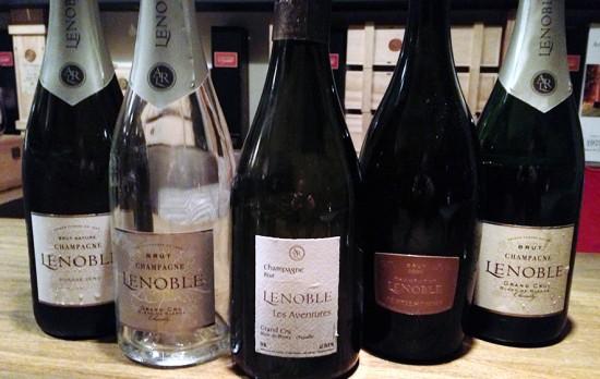 degustazione champagne lenoble