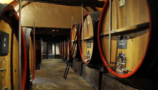 Jacquesson utilizza solo botti grandi per la fermentazione e l'élevage di tutti i vini. Poi quelli destinati a essere vins de réserve vengono conservati in acciaio.