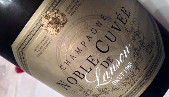 Lanson Noble Cuvée 1988