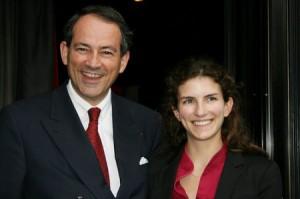 Bruno Paillard e sua figlia Alice