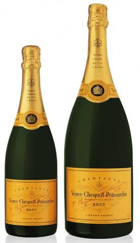 bottiglie champagne Carte Jaune Veuve Clicquot