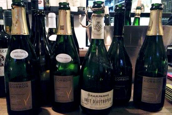 degustazione champagne Corbon