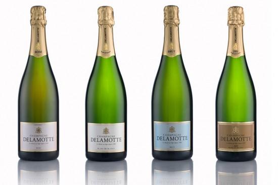 bottiglie champagne delamotte