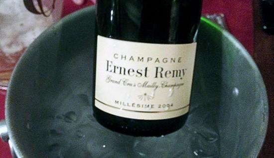 bottiglia champagne Ernest Remy