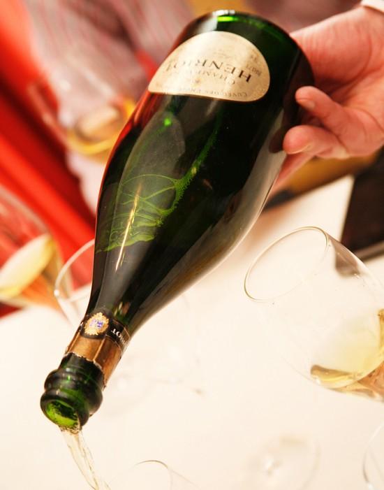 bottiglia champagne Paul Henriot