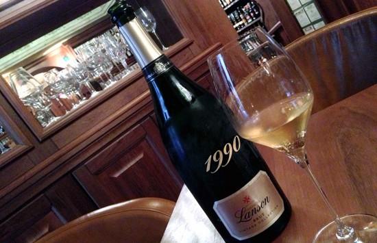 bottiglia champagne Lanson Vintage Collection 1990
