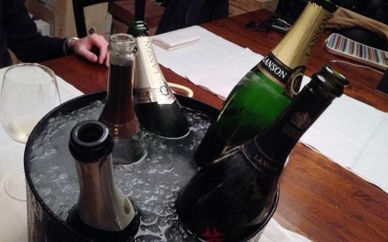degustazione champagne Lanson
