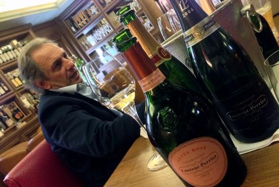 degustazione champagne Laurent-Perrier