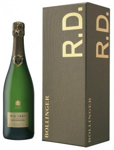 bottiglia champagne R.D. Bollinger 1997