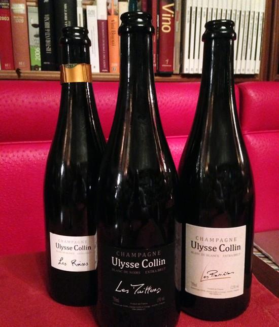 bottiglie champagne Ulysse Collin