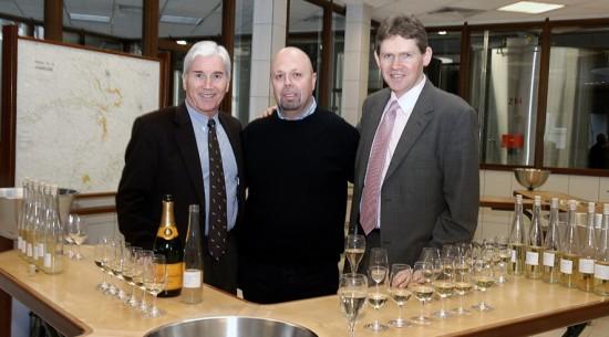 Alberto Lupetti con Jacques Péters e Dominique Demarville