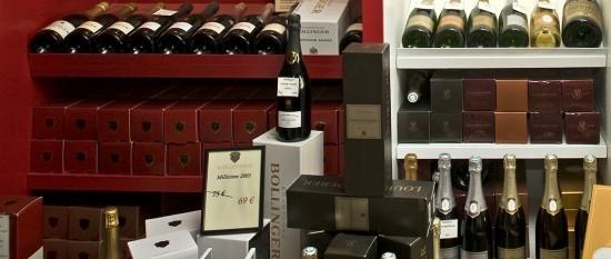 conservazione champagne