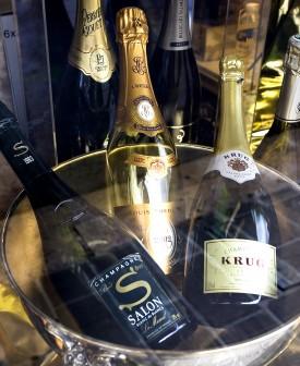 regole per conservare lo champagne