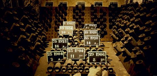 champagne millesimati conservati per decine e decine di anni