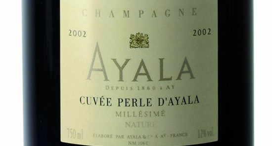 Etichetta Ayala cuveé Perle