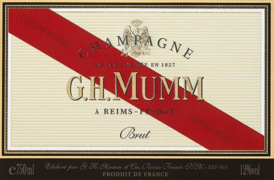 etichetta champagne