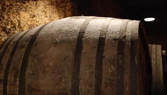 vecchia botte per champagne