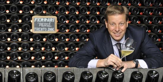 Ruben Larentis, chef de cave di Ferrari