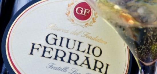 Giulio ferrari, Trento DOC prodotto con sole uve Chardonnay