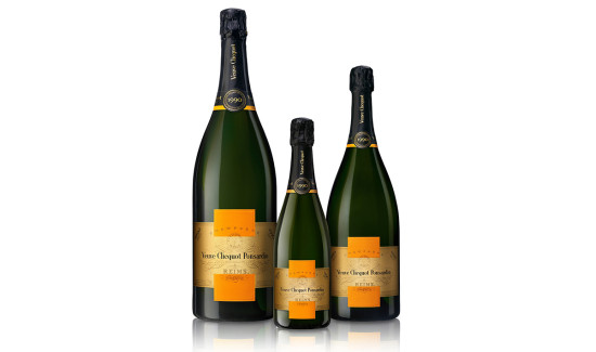 formati diversi bottiglie veuve clicquot ponsardin
