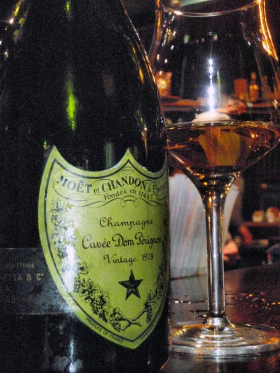 champagne Dom Pérignon Vintage 1978