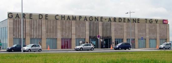 stazione del TGV Champagne-Ardenne di Reims
