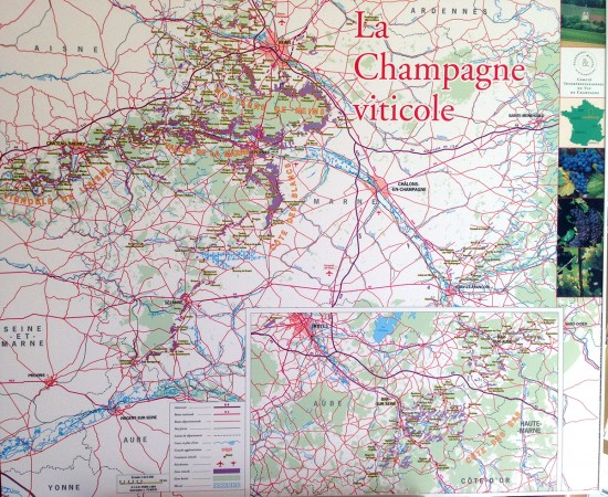 mappa champagne