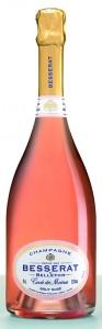 Besserat de Bellefon champagne rosé