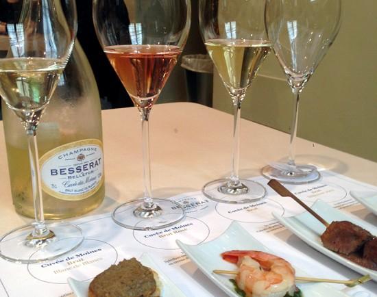 Besserat de Bellefon champagne Cuvée des Moines