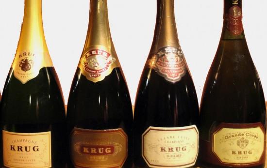 krug, evoluzione delle bottiglie