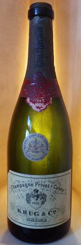 champagne krug Private Cuvée