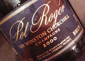 champagne pol roger 2000