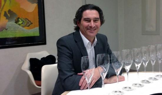Benoît Gouez, lo chef de cave di Moët