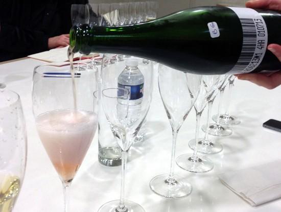 assaggio del rosé moet & chandon