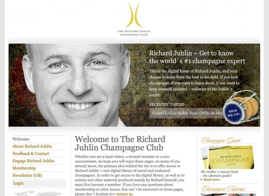 sito web del club di Richard Juhlin