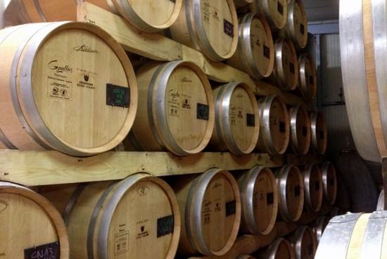 fermentazione in barrique di Argonne per gli champagne Henri Giraud